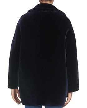 Whistles - Yara Faux-Fur Cocoon Coat