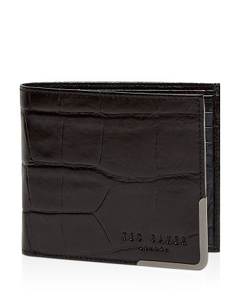Ted Baker - Croc-Embossed Leather Wallet