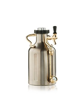 GrowlerWerks - uKeg Silver 64 oz. Beer Growler