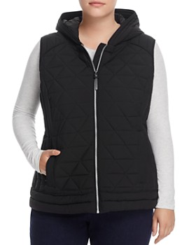 Marc New York Plus - Sage Hooded Quilted Vest