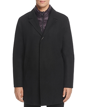 Cole Haan Waterproof Car Coat with Bib