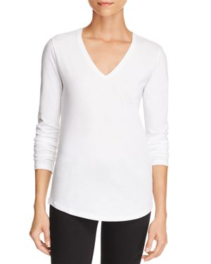 Majestic Filatures Long-Sleeve Cotton Tee