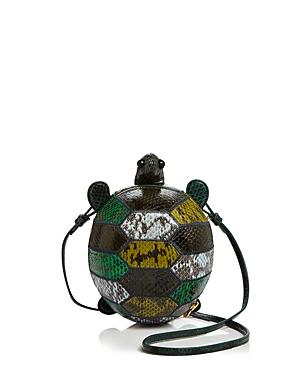 Tory Burch Turtle Burch Leather Mini Bag