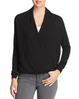 $Joie Lien Crossover-Front Sweater - Bloomingdale's