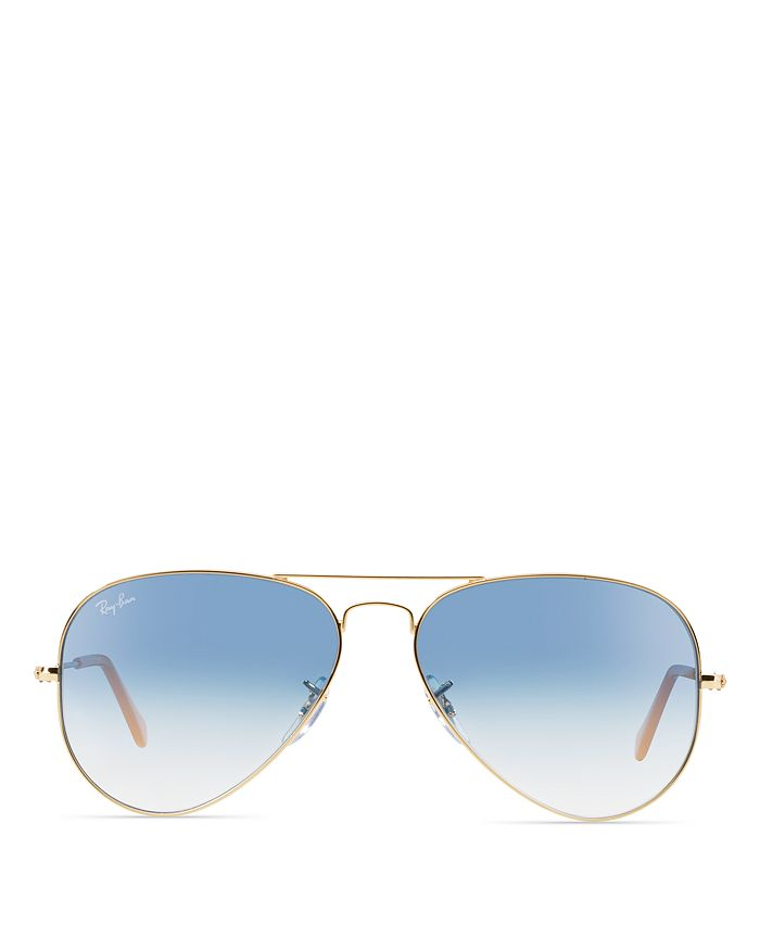 Ray-Ban - Unisex Classic Aviator Sunglasses, 55mm