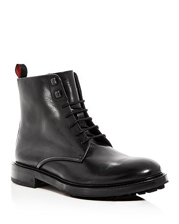 BOSS - Men's Defend Leather Lace Up Boots