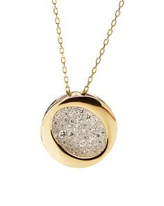 "Antonini 18K Yellow Gold Diamond Atolli Medium Pendant Necklace, 16"" - Bloomingdale's_0"