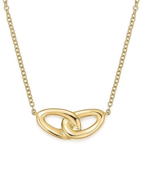 "IPPOLITA - 18K Yellow Gold Cherish Interlocking Link Necklace, 16"""