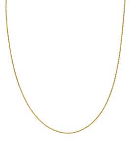 "Bloomingdale's - 14K Yellow Gold Flat Cable Chain Necklace, 22"" - 100% Exclusive"