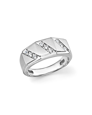Bloomingdale's Men's Diamond Ring in 14K White Gold, .50 ct. t.w. - 100% Exclusive