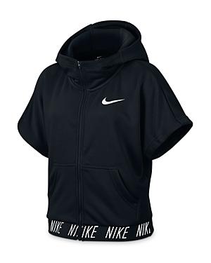 Nike Girls ShortSleeved Training Hoodie  Big Kid