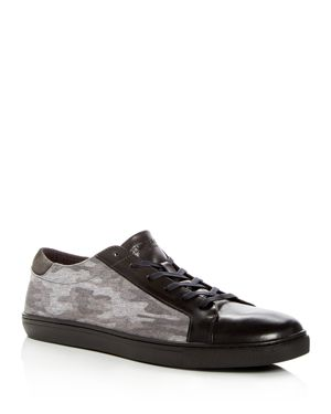 Kenneth Cole Men's Kam Leather & Camo Lace Up Sneakers