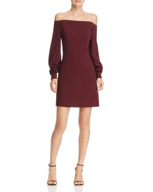 Jill Jill Stuart Off-The-Shoulder Dress