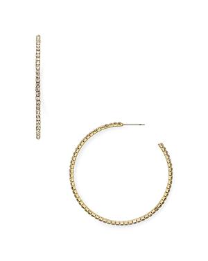 Aqua Rachel Crystal Hoop Earrings - 100% Exclusive
