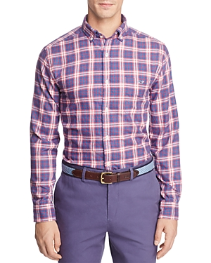Vineyard Vines Silver Creek Plaid Button-Down Shirt