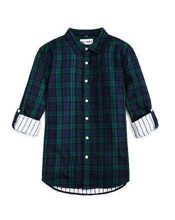 DL1961 - Boys' Plaid Shirt - Little Kid