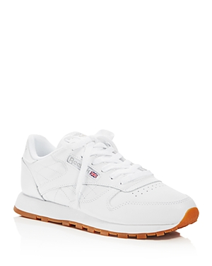 Reebok Women's Classic Leather Lace Up Sneakers