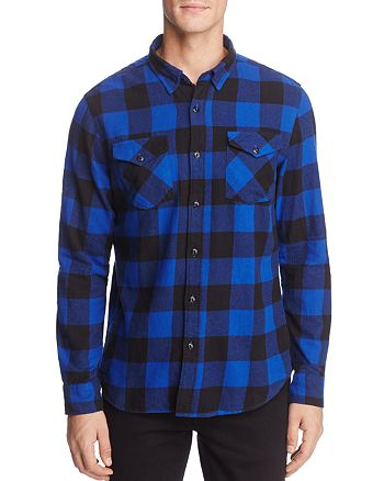 1ee661f926e8e9 JACHS NY Buffalo Check Flannel Button-Down Shirt - 100% Exclusive ...