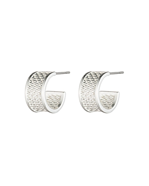 Lauren Ralph Lauren Mesh Huggie Earrings