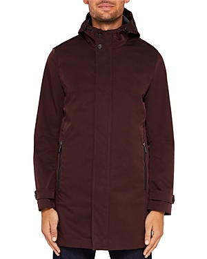 Ted Baker Stack Hooded Mac Jacket