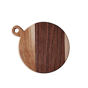 Food52 Round Walnut and Sycamore Board
