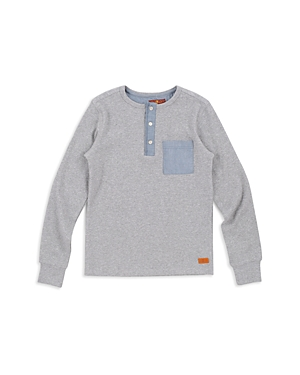 7 For All Mankind Boys Ribbed Henley  Little Kid