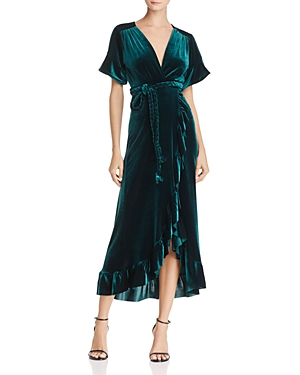 Misa Los Angeles Selina Velvet Wrap Dress - 100% Exclusive