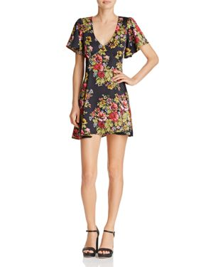 Likely Avenue Floral-Print Mini Dress