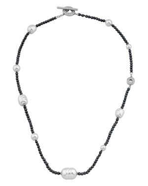 Majorica Simulated Pearl Toggle Necklace, 18