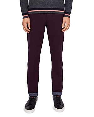 Ted Baker Koossic Classic Fit Brushed Dress Pants