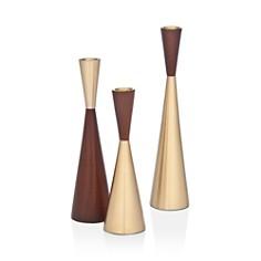 Godinger - Zephyr Candlesticks, Set of 3