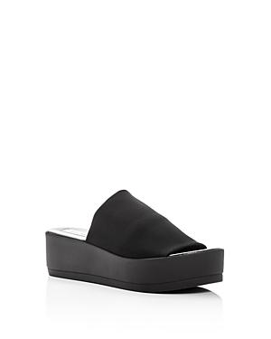 Steve Madden Girls' Jslinky Platform Slide Sandals - Little Kid, Big Kid