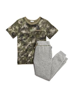 Splendid Boys' Camo Tee & Joggers Set - Little Kid