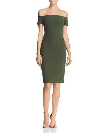 $Black Halo Bethel Off-the-Shoulder Sheath Dress - Bloomingdale's