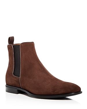 Aquatalia Men\\\'s Adrian Weatherproof Suede Chelsea Boots