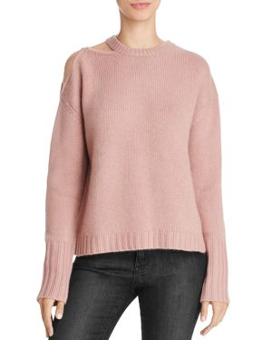 Naadam Cutout Cashmere Sweater