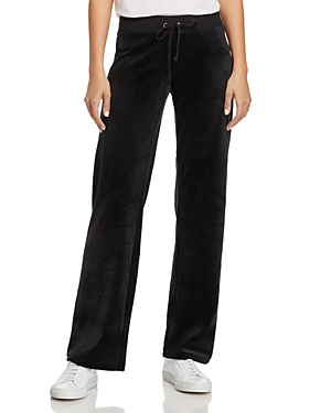 Juicy Couture Black Label Mar Vista Luxe Velour Flared Pants