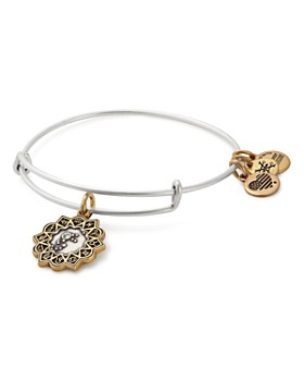 Alex and Ani - Two-Tone Zodiac Expandable Wire Bangle