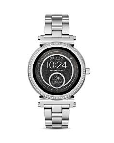 Michael Kors - Sofie Stainless Steel Touchscreen Smartwatch, 42mm