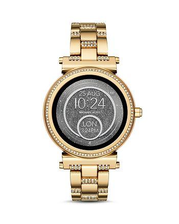 Michael Kors - Sofie Pavé Touchscreen Smartwatch, 42mm