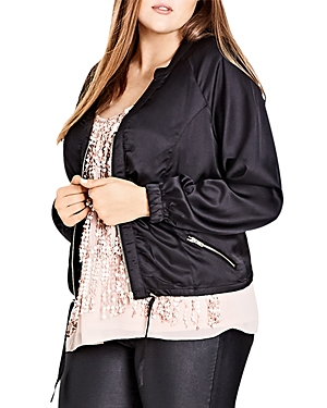 City Chic Jungle Heat Jacket