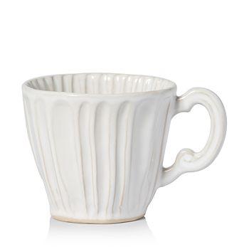 VIETRI - Incanto Stone White Stripe Mug