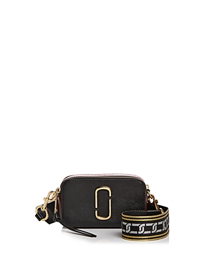 Marc Jacobs Snapshot Chain Link Strap Color Block Leather Camera Bag