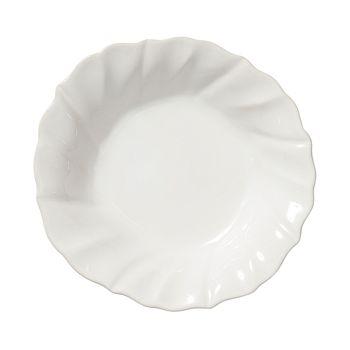 VIETRI - Incanto Stone White Ruffle Pasta Bowl
