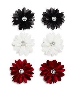 Capelli Girls' Chiffon Flower Clips, Set of 6 - Bloomingdale's_0