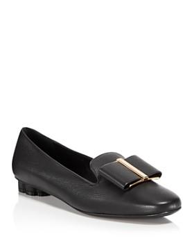 Salvatore Ferragamo - Women's Sarno Leather Loafers