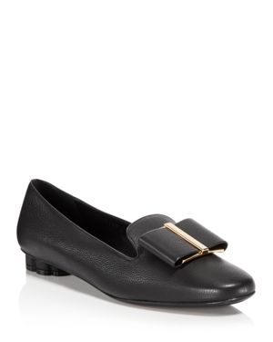 Women'S Sarno Leather Loafers in Black