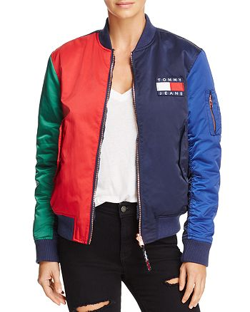 d8058c20a Tommy Jeans '90s Reversible Bomber Jacket | Bloomingdale's