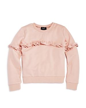 Bardot Junior Girls Ruffled Sweatshirt  Big Kid