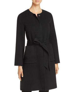 Eileen Fisher Merino Wool Coat